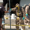 """Authorities remove, test and bag materials at the meth lab home.<br /> Law enforcement and fire/rescue officers from around Boulder County responded to a  meth lab clean up on Bonanza Dr. in Erie on Friday. For a video of the scene, go to  <a href=""""http://www.dailycamera.com"""">http://www.dailycamera.com</a>.<br /> Cliff Grassmick / September 3, 2010"""