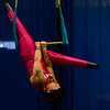 "KRISTOPHER RADDER - BRATTLEBORO REFORMER<br /> Erin Ball, from Kingston, Ontario, Canada, rehearses on Tuesday, Dec. 13, 2016, her routine for New England Center for Circus Arts' show, ""The Flying Nut 2016: Bratt in Bayou,"" that will run this weekend."