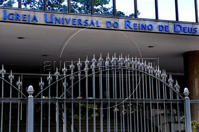 Evangelical church, Rio de Janeiro, Brazil, august 23,2011. (Austral Foto/Renzo Gostoli)