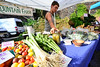 KRISTOPHER RADDER - BRATTLEBORO REFORMER<br /> People shop around at the evening farmers market in Brattleboro on Tuesday, Sept. 19, 2017. Next Tuesday, Sept. 26, will be the last evening market for the season.