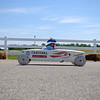 HALEY WARD | THE GOSHEN NEWS<br /> Catrina Simons races in the Elkhart County Soap Box Derby on Saturday at the Elkhart County Fairgrounds.