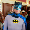 Brian Sapp | The Goshen News<br /> Dun Moon of Harbert, Michigan, poses in his classic Batman costume