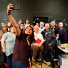 JAY YOUNG | THE GOSHEN NEWS<br /> Sarah Elizabeth Miller takes a selfie with those who attended her makeup workshop.