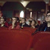 "JAY YOUNG | THE GOSHEN NEWS<br /> River Bend Film Festival goes view the short film ""Kush,"" by Indian filmmaker Shubhashish Bhutiani,   at the Goshen Theater Friday afternoon during the second day of the festival"