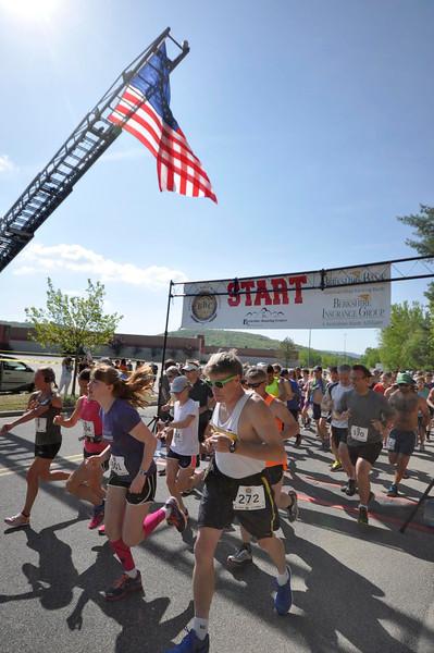 3rd annual Steel Rail Half Marathon-051715