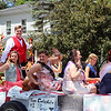 SHERRY VAN ARSDALL | THE GOSHEN NEWS The 2016 Bristol Indiana Homecoming pageant winners riding a float during the 2016 Bristol Homecoming Parade Saturday.
