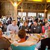 SAM HOUSEHOLDER | THE GOSHEN NEWS<br /> Members of the Nappanee Chamber of Commerce enjoy a meal during the Nappanee Chamber of Commerce Annual Appreciation Dinner.