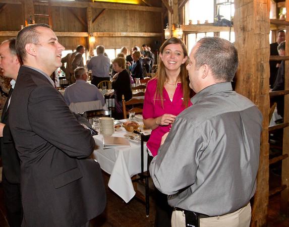 SAM HOUSEHOLDER | THE GOSHEN NEWS<br /> during the Nappanee Chamber of Commerce Annual Appreciation Dinner.