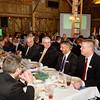 SAM HOUSEHOLDER | THE GOSHEN NEWS<br /> Chamber of Commerce members dine during the Nappanee Chamber of Commerce Annual Appreciation Dinner.