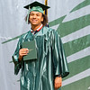 Concord Senior Kendrick Jordan, walks the stage at Concord High School during graduation Monday morning.