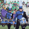 STACEY DIAMOND | THE GOSHEN NEWS<br /> Fairfield Marching Pride drummers perform during Saturday's marching band invitational at Concord High School.