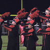STACEY DIAMOND | THE GOSHEN NEWS<br /> Goshen High School flute players perform Saturday during the marching band invitational at Concord High School.