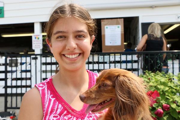 Natalie Kautzmann, 14. Dog is Lucy. Elkhart