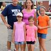 Rodney and Cindy Schrock with Janae, 8, Kaycie, 7, Allyson, 11.Goshen