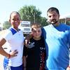 Krystal Bruner, Logan Mattingly and Jamie Mattingly of Kentucky.