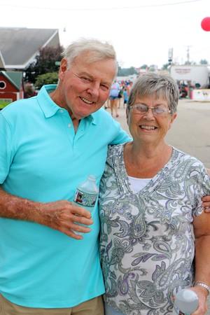 George and Janet VanderWey of Goshen.