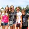 Hannah Gorden, Paige Maurer, Megan Martin and Will Martin of Goshen