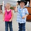 Kylee,4, and Reid Barker, 5. Goshen