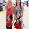 Kristen Chavez with Ariana Chavez, Siera Littlejohn with Angelina Littlejohn. Syracuse.