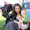 Jessica Miller and Liam Connett, 18 months, both of Goshen