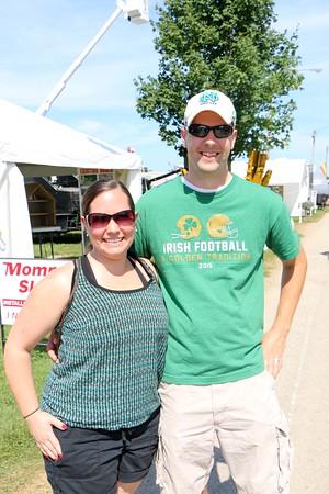 Kara and Aaron Keister of Goshen.