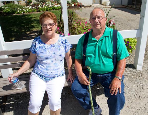 Donna and Vern Borkholder, Milford.