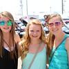 Katie Schlichter, Samantha Hartsough and Megan Harmelink, all from Goshen