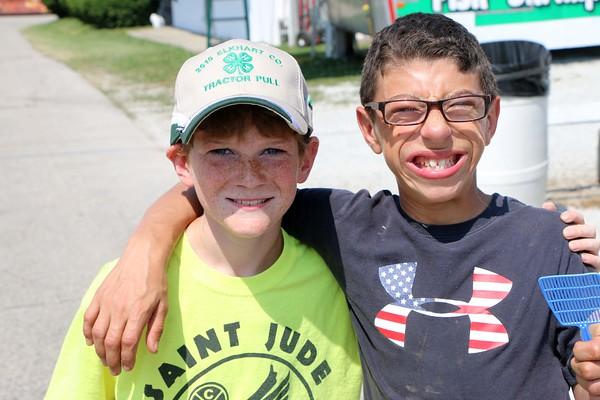 Ryan Thomas of Indianpolis and Max Mullett of Elkhart.