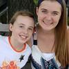 Kayla Little and Jamie Radford of Michigan.