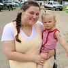 Cassie Hankins holding Avalynn Hankins, 1 1/2. Goshen
