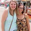 Kairah Pippenger and Amber Hunter of Fort Wayne.