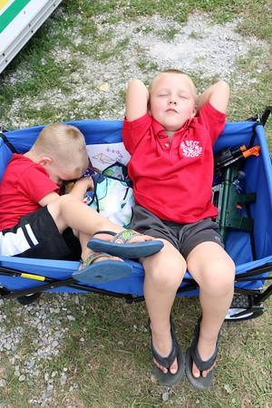 Liam McGrath, 3, Riley McGrath, 5. Florida