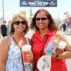 Denise Worcel and Linda Garcia, both of Goshen.