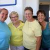 Christie Cordell, Jean Joldersma, Sarah Russell, Wendy Goley of Goshen.