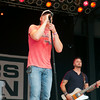 SAM HOUSEHOLDER | THE GOSHEN NEWS <br /> Brad Arnold of 3 Doors Down sings during a concert at the grandstand Saturday during the Elkhart County 4-H Fair.