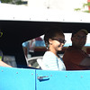 HALEY WARD | THE GOSHEN NEWS  <br /> A classic car drives down Main Street during First Fridays Cruisin' Reunion on Friday.