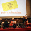 LYNNE ZEHR| THE GOSHEN NEWS<br /> Jabberwock Jazz Quartet performs before the showing of Admit One, The Story of the Goshen Theater.