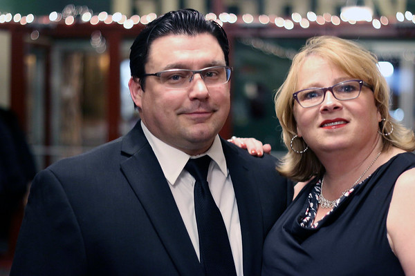 LYNNE ZEHR| THE GOSHEN NEWS<br /> Jenni and Jason Samuel are pictured at Admit One.