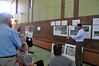 Jack Guerino/ North Adams Transcript<br /> Mark Arigoni, landscape architect for Milone &MacBroom, discusses plans and answers questions about the reimagined Hoosic River area Saturday morning at the Hoosic River Revival's community conversation.