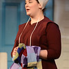 HALEY WARD | THE GOSHEN NEWS<br /> Jordan Tudor performs as Emma during rehersals for Plain and Fancy on Tuesday at the Round Barn Theatre.