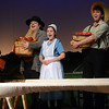 "HALEY WARD | THE GOSHEN NEWS<br /> The cast sing ""Plenty of Pennsylvania"" during Plain and Fancy rehersals Tuesday at the Round Barn Theatre."