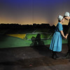 HALEY WARD | THE GOSHEN NEWS<br /> Kaitlyn Casanova as character Katie and Abby Murray Vachon as character Hilda perform in Plain and Fancy rehersals Tuesday at the Round Barn Theatre.
