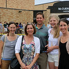 LYNNE ZEHR | THE GOSHEN NEWS<br /> Andrea Milne, Julia King, Tim Koontz, Haley Kirkton and Sarah Koontz arrive at Concord High School.