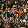 HALEY WARD | THE GOSHEN NEWS<br /> Supporters take photos of President Barack Obama's speech Wednesday at Concord High School.
