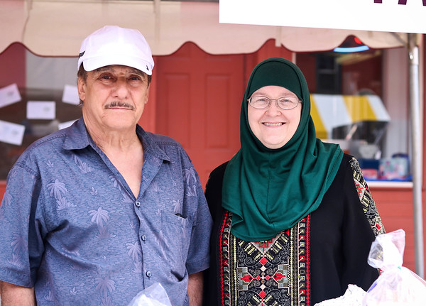 LEANDRA BEABOUT | THE GOSHEN NEWS<br /> Khalaf and Huda Mashhour of Goshen