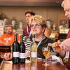 LEANDRA BEABOUT | THE GOSHEN NEWS<br /> Cyd Maravolo, vice president of Mid America Filmmakers, enjoys a glass of wine inside Gateway Cellar Winery during River Bend Film Festival.