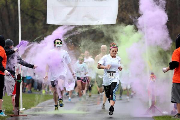 YMCA Tie Dye Dash Color Run-051014