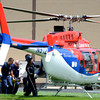"Rescue workers load a victim in a medical helicopter to be transported to the hospital on Wednesday, Aug. 1, after the roof allegedly collapsed at Erie Middle School in Erie. For more photos and video of the accident go to  <a href=""http://www.dailycamera.com"">http://www.dailycamera.com</a><br /> Jeremy Papasso/ Camera"