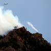 """Tankers work together while fighting the Flagstaff wildfire on Tuesday, June 26, in Boulder. For a video of the fire go to  <a href=""""http://www.dailycamera.com"""">http://www.dailycamera.com</a><br /> Jeremy Papasso/ Camera"""