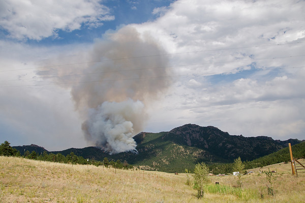 Photos of the Flagstaff Fire on Tuesday June 26, 2012. <br /> Photo COURTESY LEONARD MACQUEEN